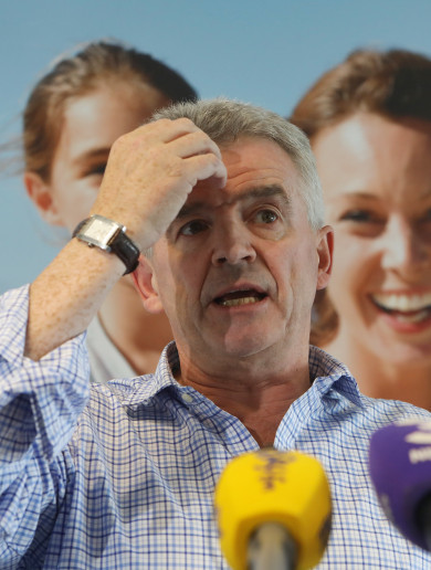 'I'm sorry... it's my mess. I have to clean it up': Michael O'Leary apologises for cancelled Ryanair flights