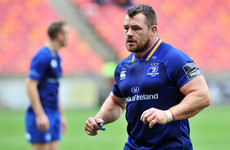 Cian Healy apologises after he was asked to leave Leinster's flight to Cape Town