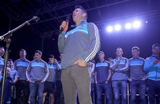 Watch: Kevin McManamon leads Dublin fans in celebratory rendition of 'The Rare Auld Times'