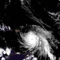 Caribbean islands hit by 'potentially catastrophic' Hurricane Maria