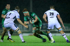 Young flanker O'Brien faces lengthy absence as Connacht's injury list grows