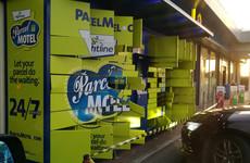 Parcel Motel depot emptied by thieves in Dublin