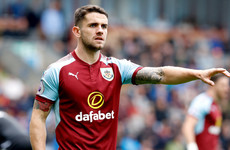 This brilliant 96th-minute Robbie Brady free kick lit up tonight's Burnley-Leeds tie