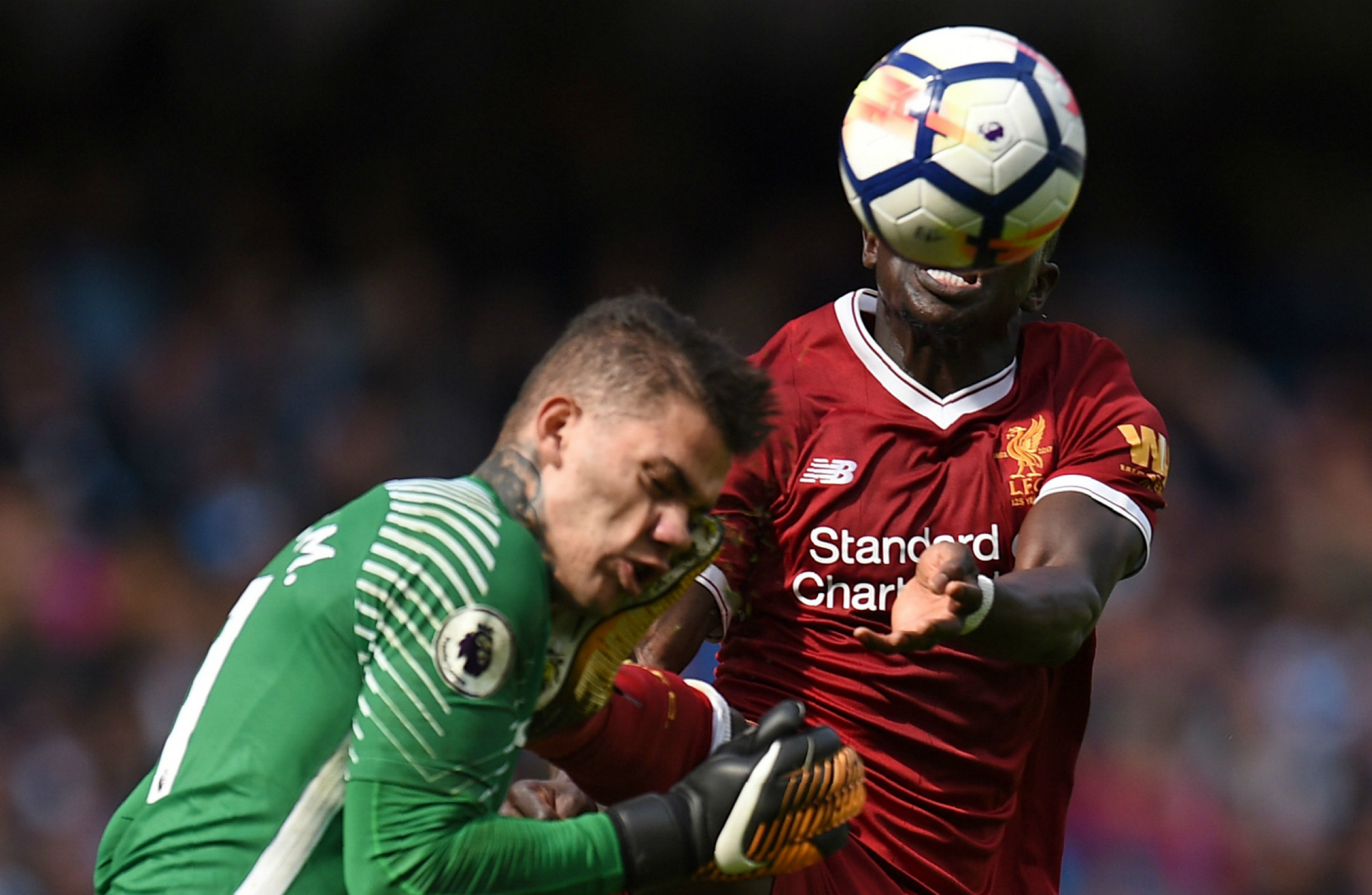 Sadio Mane finding it hard watching Liverpool teammates from the sidelines