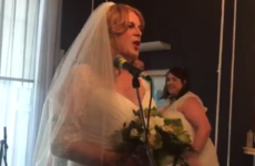 Today loads of women (and Today FM's Ian Dempsey) wore wedding dresses to work for a lovely reason