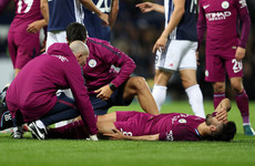 On his first start since December, Man City's Ilkay Gundogan forced off with another injury