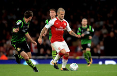 For the first time in over three years, Jack Wilshere played 90 minutes for Arsenal tonight