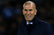 'I do not think the situation is delicate' - Zidane urges calm