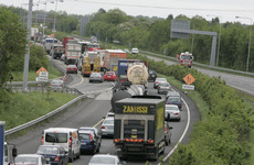 The M7 is being widened to three lanes at a traffic blackspot