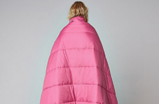 You can buy a coat that doubles up as a sleeping bag in River Island now