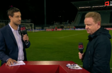 'He slapped me in the face three or four times:' Club president attacks TV pundit