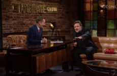Russell Crowe explained his love of Irish pints on the Late Late last night