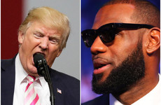 LeBron James calls Donald Trump a 'bum' as US sports stars get political