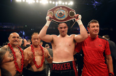'That's disgusting' - Hughie Fury's camp up in arms as Parker retains WBO heavyweight title
