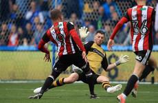 Assist for Dubliner Enda Stevens as Blades claim bragging rights in Steel City derby