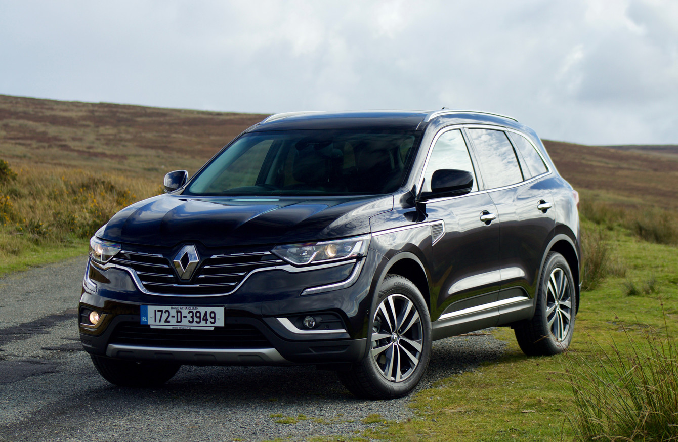 the renault koleos is for buyers with taste looking for space. Black Bedroom Furniture Sets. Home Design Ideas