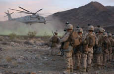 A woman has passed US Marine infantry training for the first time
