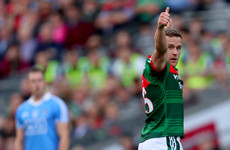 He's set to miss rest of this year through injury but Mayo's key forward will be back in 2018