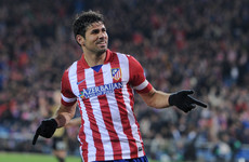 Coming home: Diego Costa completes £58 million transfer from Chelsea to Atletico