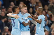 This superb Kevin de Bruyne goal inspired Man City to a win tonight