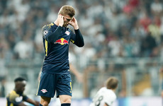 Deafening Besiktas noise forced Leipzig striker Werner to come off after 32 minutes