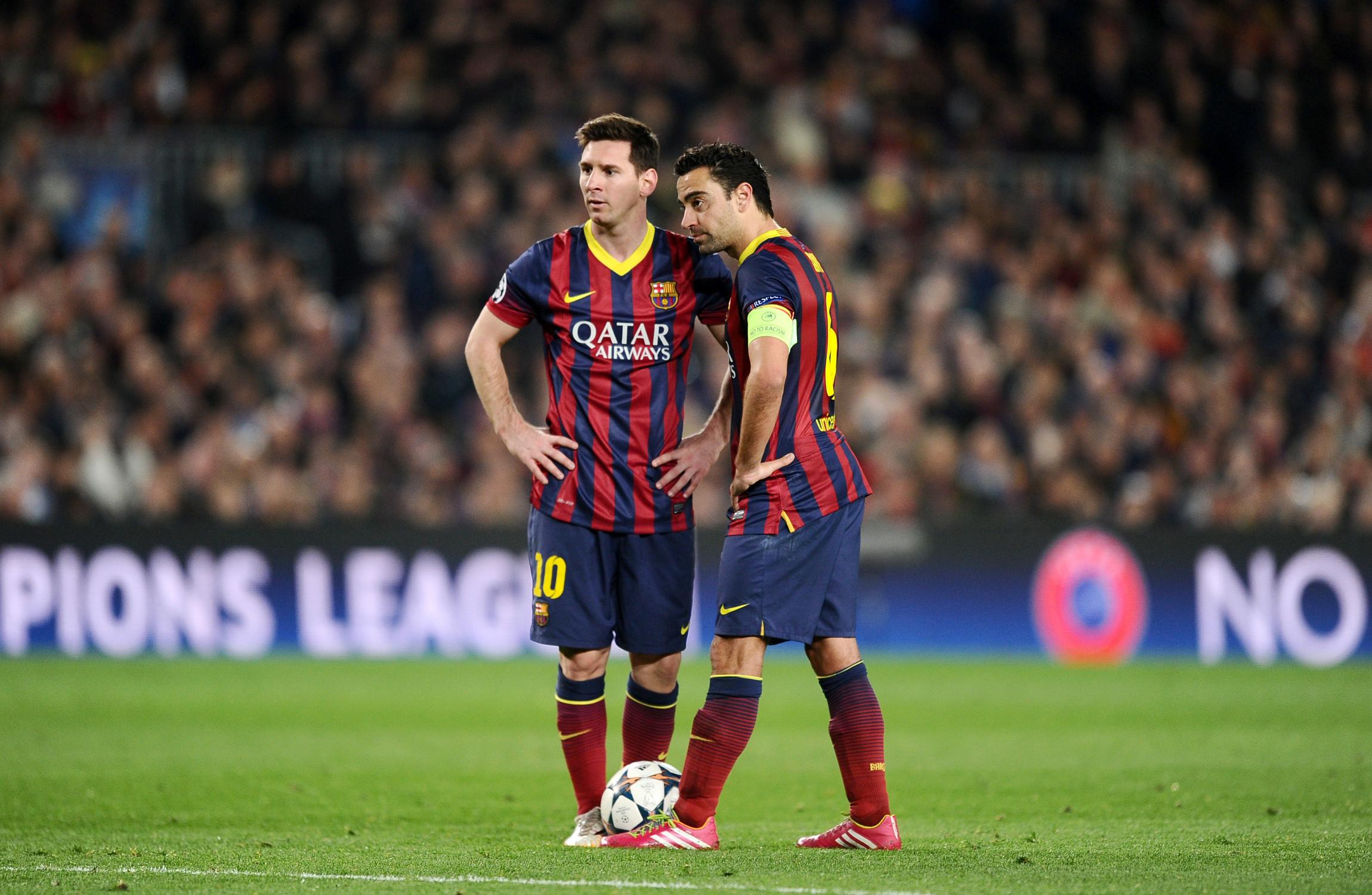 Xavi I got the feeling that Messi and Mascherano did not enjoy