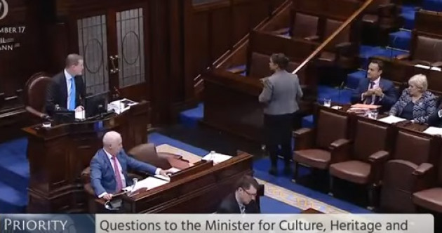 Clash in Dáil sees Mary Lou leave chamber after jibes from Taoiseach