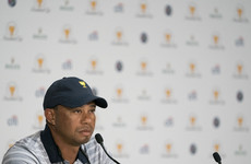 With playing future uncertain, Tiger Woods relishes Presidents Cup role