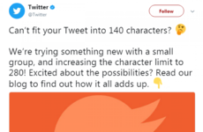 Poll: Would you use Twitter more if you had 280 characters?