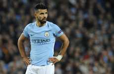 How badly will Sergio Aguero's absence impact on Man City's title aspirations?