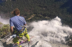One man dies after rocks weighing 1,300 tonnes fall at Yosemite National Park