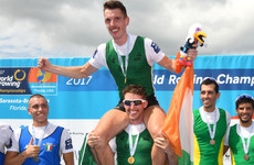 O'Donovan and O'Driscoll win gold for Ireland at World Rowing Championships