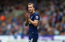 Kane ends spectacular September with fitting double as Spurs sink Huddersfield