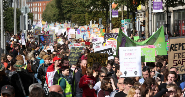 Photos: Thousands take part in March for Choice in Dublin city centre