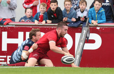Hanrahan back with a bang to hand Munster bonus point win