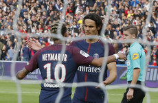 Neymar and Cavani friends again as emphatic PSG hit Bordeaux for six