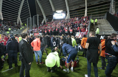 18 fans injured as Ligue 1 clash abandoned due to barrier collapse