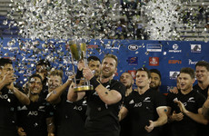 All Blacks put Argentina to the sword as they retain Rugby Championship title