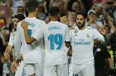 Isco scores a brace as Real Madrid stay in touch with Barcelona