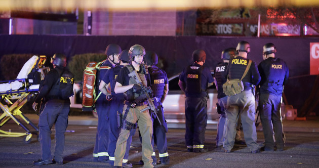 Gunshot victims taken to hospital after mass shooting near Las Vegas Strip