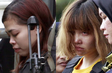 Two women accused of assassinating North Korean leader's half brother plead not guilty at start of trial