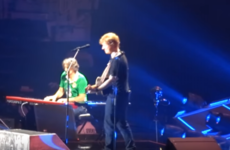 Ed Sheeran's piano-playing Irish roadie is slowly becoming the star of his American tour