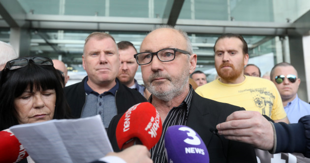 Air horns ring out in court as Jobstown charges officially dropped