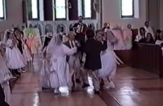 Stop everything and watch a young Conor McGregor Irish dancing at his communion