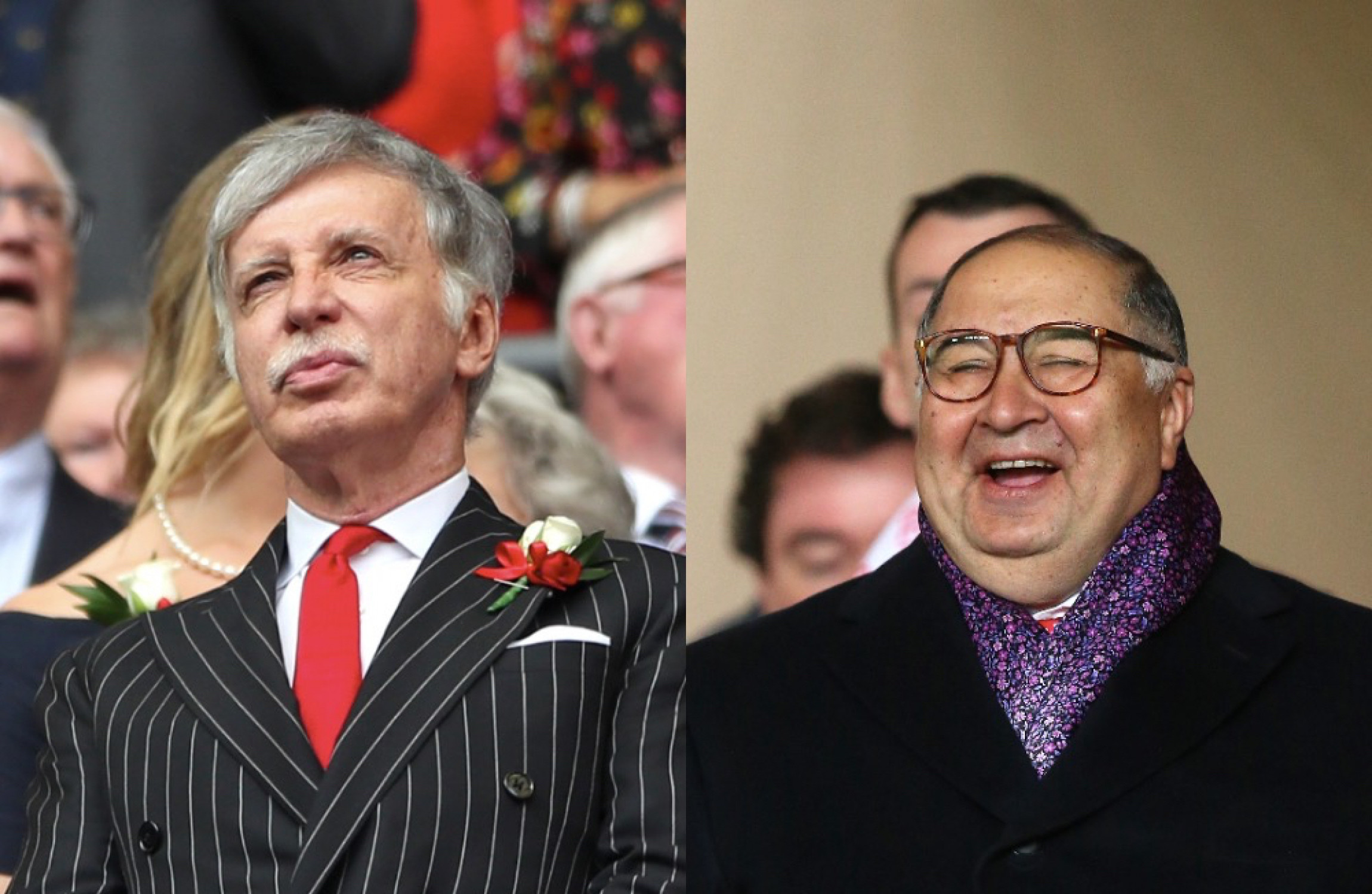Usmanov won't sell Arsenal stake to Kroenke, £2bn offer still stands