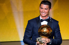 Cristiano Ronaldo raises £600k for charity after auctioning 2013 Ballon d'Or