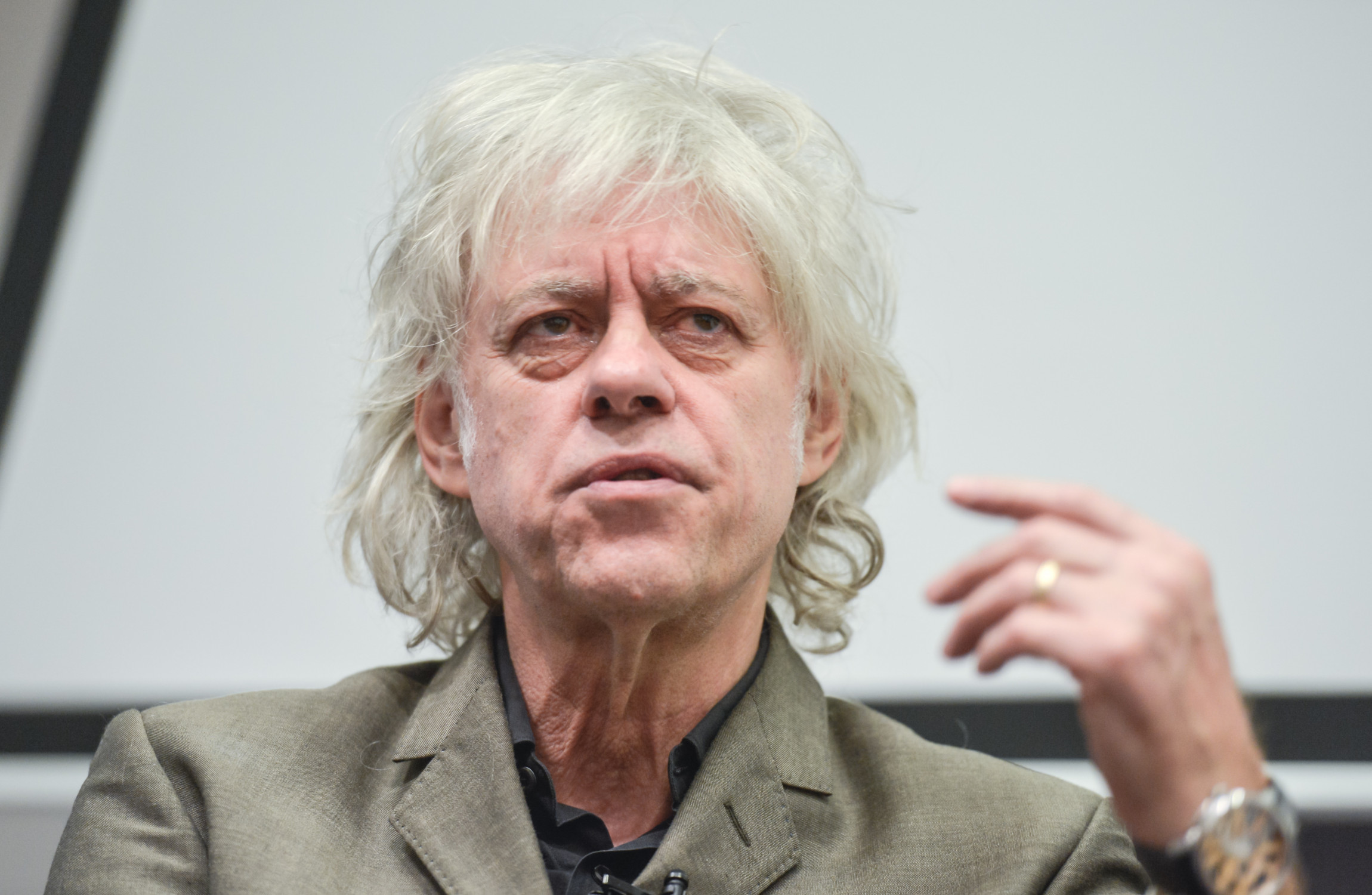 Bob Geldof Lambasts Aung San Suu Kyi During Passionate Speech