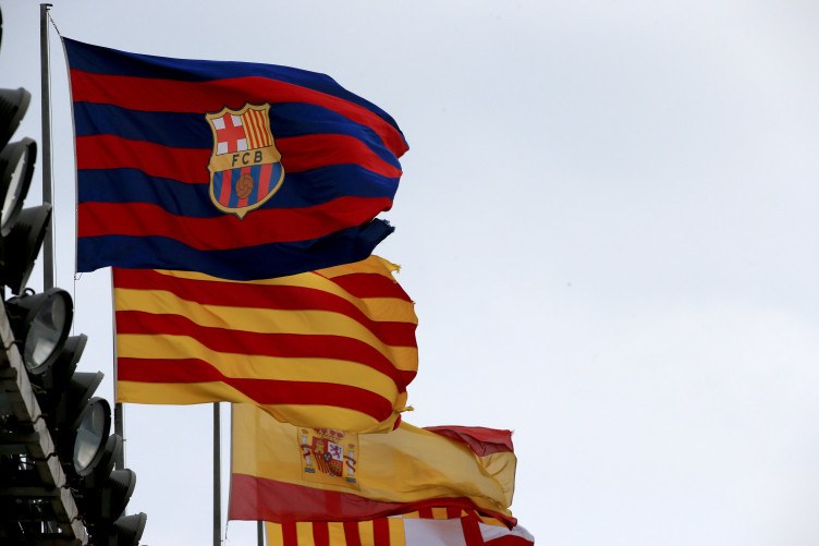 Even the letters FCB on their crest are key to identifying Barcelona's Catalan roots.