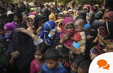 Rohingya crisis: 'I will never forget her words or the look in her eyes'