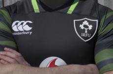 This is the new jersey Ireland will wear against South Africa in November
